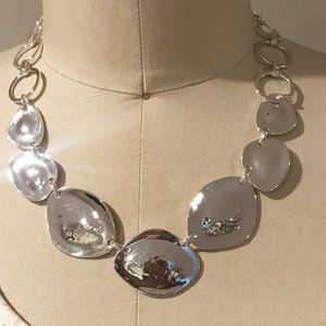 Robert Lee Morris SOHO So Shinny Silver Necklace